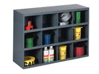 12 compartment h/d small parts bin unit