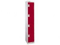 4 Door Medium Duty Lockers
