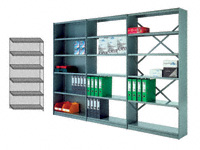 Metaclip Rolled Edge Shelving