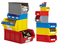 Polypropylene Parts and Stacker Bins