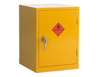 Flammable liquid storage single door cabinet